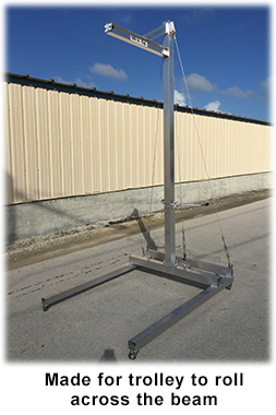 work station aluminum gantry